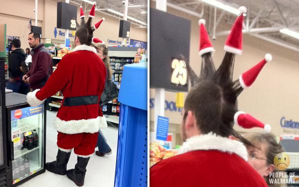 Santa mohawk
